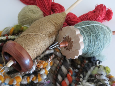 linda scharf spindles badass spindle class fiber revival